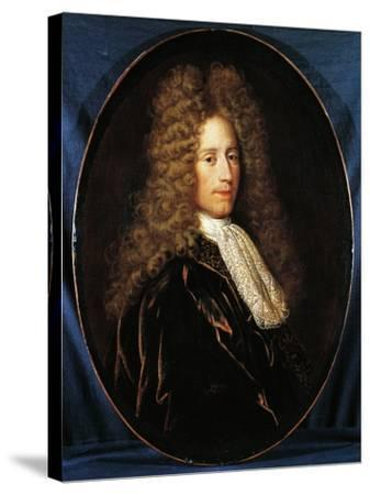 Portrait of John Law--Stretched Canvas Print