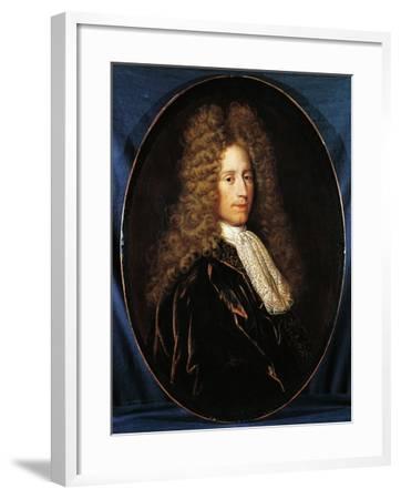 Portrait of John Law--Framed Giclee Print