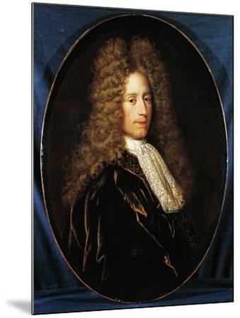 Portrait of John Law--Mounted Giclee Print