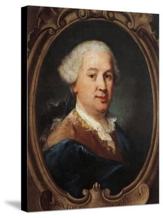 Portrait of Carlo Goldoni--Stretched Canvas Print