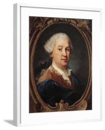 Portrait of Carlo Goldoni--Framed Giclee Print