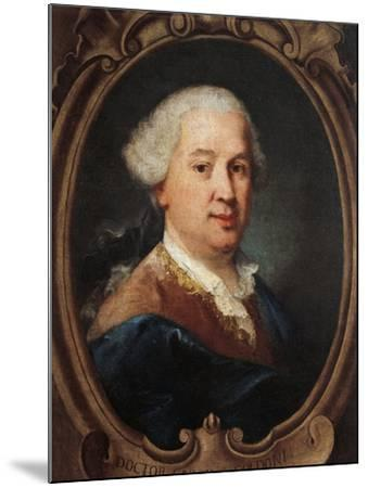 Portrait of Carlo Goldoni--Mounted Giclee Print
