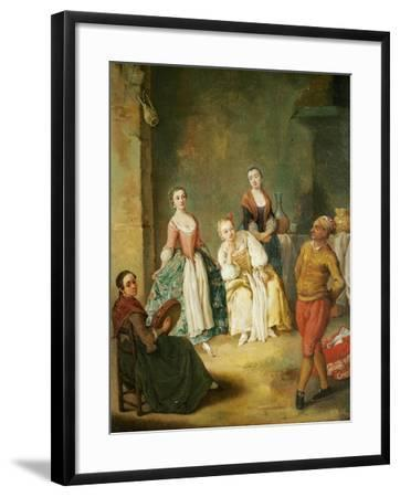 Dance of Furlana-Pietro Longhi-Framed Giclee Print