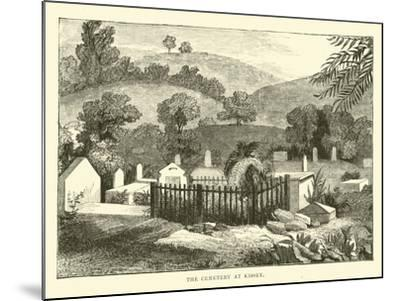 The Cemetery at Kissey--Mounted Giclee Print