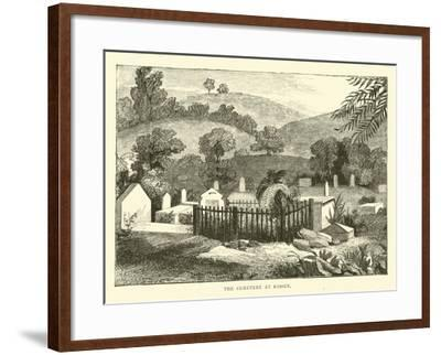 The Cemetery at Kissey--Framed Giclee Print