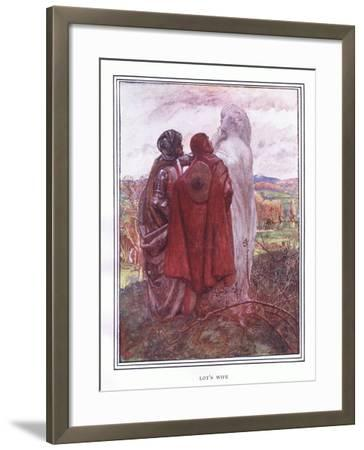 Lot's Wife-John Byam Liston Shaw-Framed Giclee Print