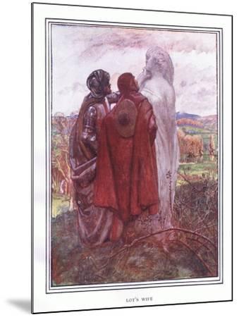 Lot's Wife-John Byam Liston Shaw-Mounted Giclee Print