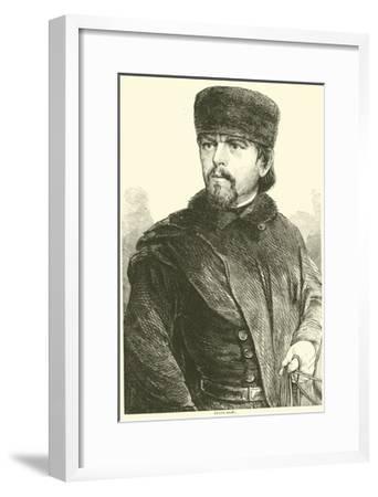 Franz Sigel, August 1862--Framed Giclee Print
