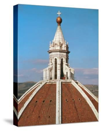 Cupola, Designed-Filippo Brunelleschi-Stretched Canvas Print