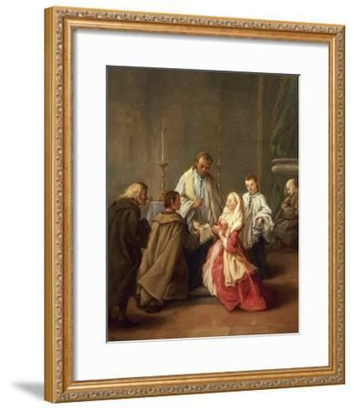 The Seven Sacraments: Marriage-Pietro Longhi-Framed Giclee Print