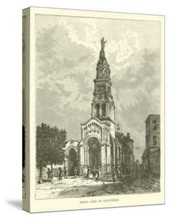 Notre Dame De Fourvieres--Stretched Canvas Print