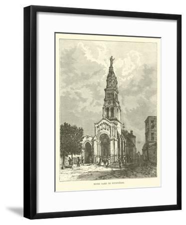 Notre Dame De Fourvieres--Framed Giclee Print