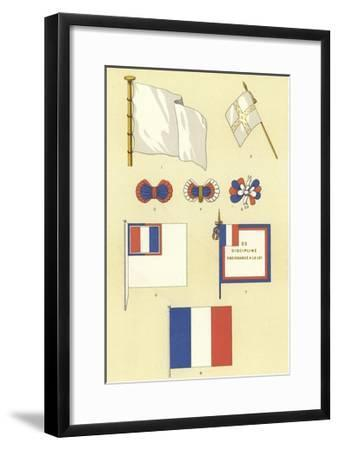 Origins of the French Tricolour--Framed Giclee Print