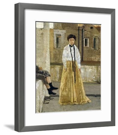 The Terrace-Edoardo Dalbono-Framed Giclee Print