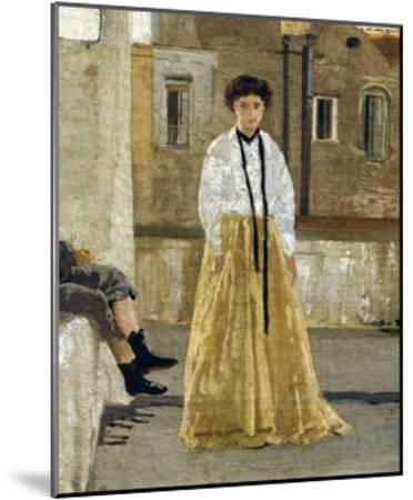 The Terrace-Edoardo Dalbono-Mounted Giclee Print