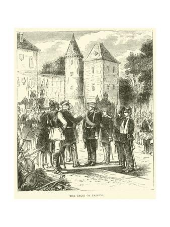 The Cross of Valour, September 1870--Framed Giclee Print
