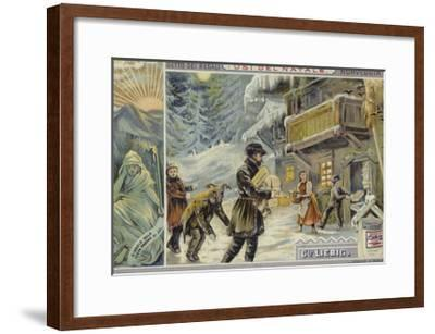 Christmas in Norway--Framed Giclee Print