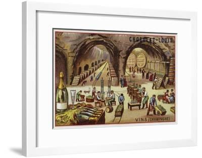 Winemaking--Framed Giclee Print