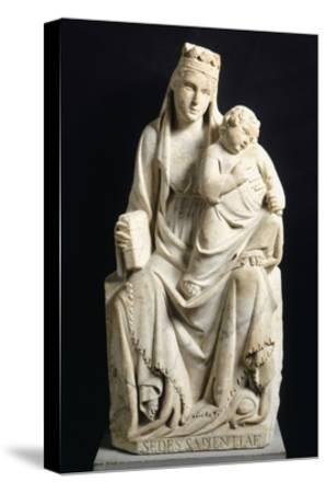 Madonna and Child, 1332-Tino di Camaino-Stretched Canvas Print