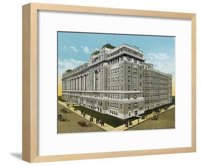 Cook County Hospital--Framed Photographic Print