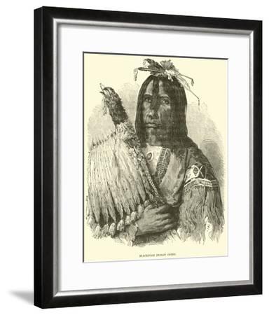Blackfoot Indian Chief--Framed Giclee Print