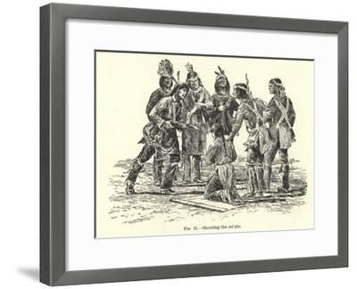 Shooting the Migis--Framed Giclee Print