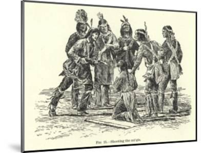 Shooting the Migis--Mounted Giclee Print
