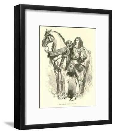 The Great Conde--Framed Giclee Print