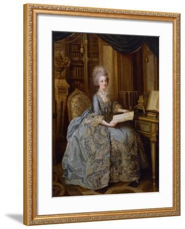 Portrait of Marie Antoinette--Framed Giclee Print