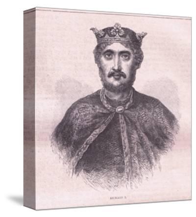 Richard I--Stretched Canvas Print