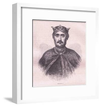 Richard I--Framed Giclee Print