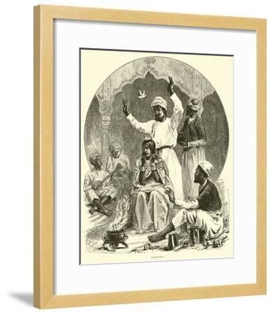 Conjurer--Framed Giclee Print