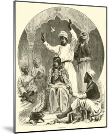 Conjurer--Mounted Giclee Print