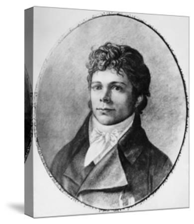 Portrait of Friedrich Wilhelm Joseph Schelling--Stretched Canvas Print