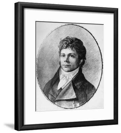 Portrait of Friedrich Wilhelm Joseph Schelling--Framed Giclee Print