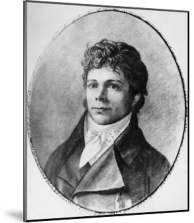 Portrait of Friedrich Wilhelm Joseph Schelling--Mounted Giclee Print