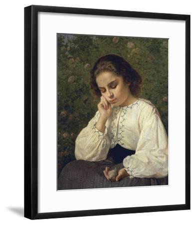 First Pain, 1863-Silvestro Lega-Framed Giclee Print