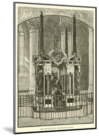 The Mausoleum of William the Silent--Mounted Giclee Print