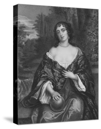 Elizabeth Bagot, Countess of Falmouth and Dorset-Sir Peter Lely-Stretched Canvas Print