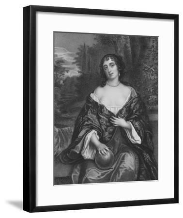 Elizabeth Bagot, Countess of Falmouth and Dorset-Sir Peter Lely-Framed Giclee Print