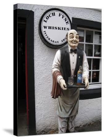 Whisky Shop, Inverary, Scotland, 2012--Stretched Canvas Print