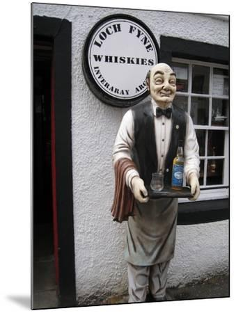 Whisky Shop, Inverary, Scotland, 2012--Mounted Photographic Print