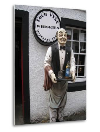 Whisky Shop, Inverary, Scotland, 2012--Metal Print