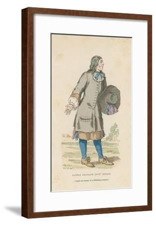 French Peasant, 17th Century--Framed Giclee Print