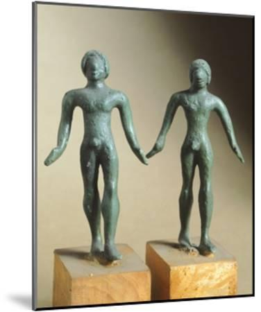 Votive Bronze Statue, from Monteacuto Ragazza--Mounted Giclee Print