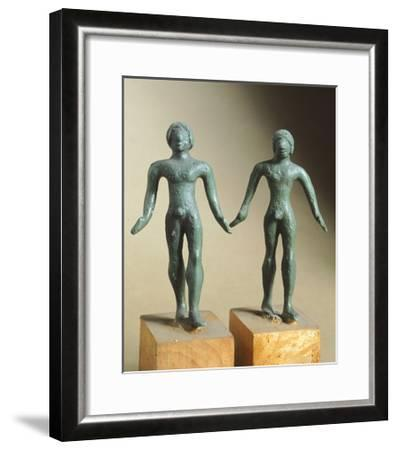 Votive Bronze Statue, from Monteacuto Ragazza--Framed Giclee Print