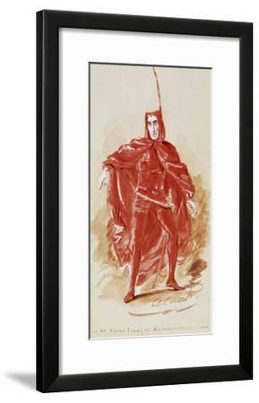 Henry Irving--Framed Giclee Print