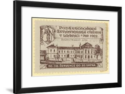 Trade Exhibition, Lomnica., Czechoslovakia, 1922--Framed Giclee Print