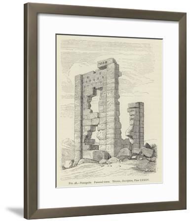 Pasargadae, Funereal Tower--Framed Giclee Print