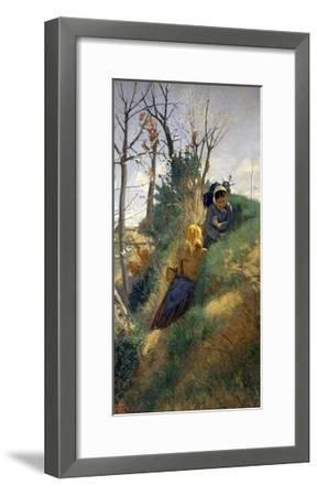 Pastoral Scene-Niccolo Cannicci-Framed Giclee Print